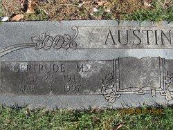 Gertrude M. Austin