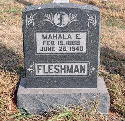 Mahala Elzena <i>Vance</i> Fleshman