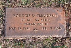 Lieut Warren Gray Fleshman