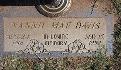 Nannie Mae <i>Stowe</i> Davis