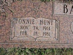 Fonnie George <i>Hunt</i> Bailey