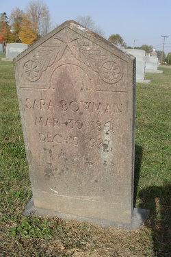 Sarah R. <i>Cash</i> Bowman