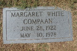 Margaret <i>White</i> Compaan
