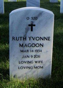 Ruth Yvonne <i>Martin</i> Magoon