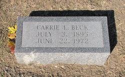 Carrie Lillian <i>Webster</i> Beck