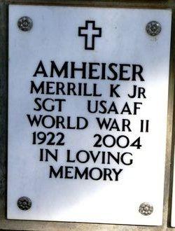 Merrill Kenneth Amheiser, Jr