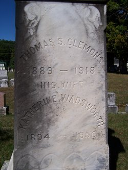 Katherine <i>Wadsworth</i> Clemons