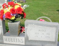 Madge <i>Holland</i> Mullins