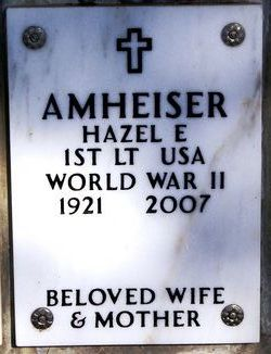 Hazel Elizabeth <i>Kimmel</i> Amheiser