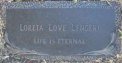 Loreta <i>Love</i> Lengert