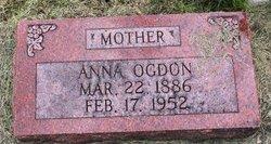 Anna Catherine <i>Lawrence</i> Ogdon