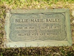 Billie Marie <i>Bartz</i> Bailey