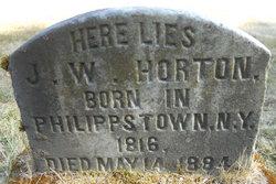 J W Horton