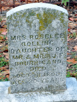 Mrs. Roselee <i>Bourrigand</i> Bolling