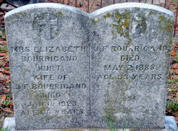 Mrs. Elizabeth <i>Hurt</i> Bourrigand