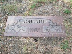 B F Buck Johnston