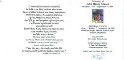 John Henry Johnny Mason
