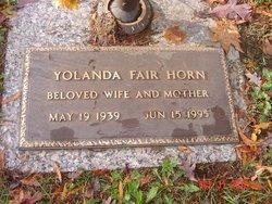 Yolanda Fair Horn
