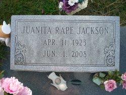 Frances Juanita <i>Rape</i> Jackson