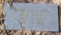 Mattie Cora Ward Faulk Bailey