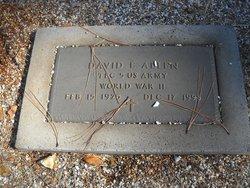 David E. Allen
