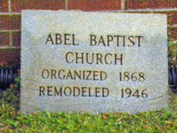 Abel Baptist Church Cemetery