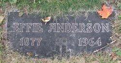 Effie Edlay Ouida <i>Carlson</i> Anderson