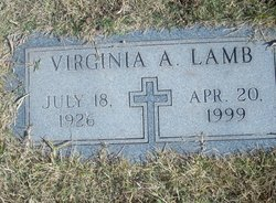 Virginia Ann <i>Gibney</i> Lamb