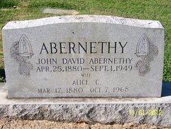 Alice Cathrine <i>Mauney</i> Abernethy
