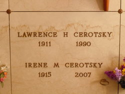 Irene M Cerotsky