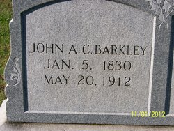 John Archibald C Barkley