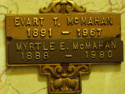 Myrtle E <i>(Smith)</i> McMahan