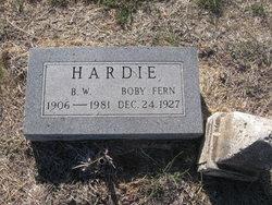 Burnice Winford Hardie