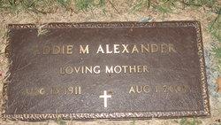 Addie M Alexander