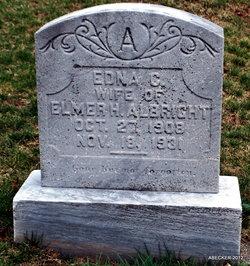 Edna C Albright