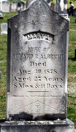 Mary Ann <i>Dubs</i> Albright