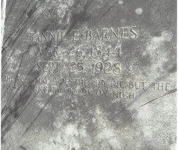 Fannie E Barnes