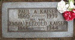 Emma <i>Petzold</i> Kaiser