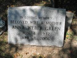 Anna Violet <i>Weber</i> Green