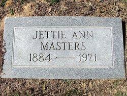 Jettie Anna <i>Herod</i> Masters
