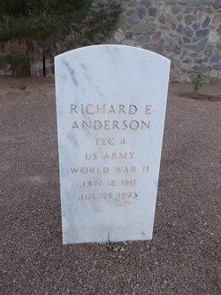 Richard E Anderson