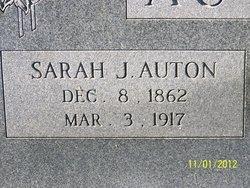 Sarah Jane <i>Kerns</i> Auton