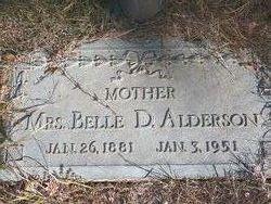 Martha Belle <i>Duncan</i> Alderson