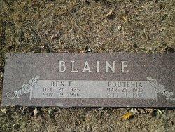 Benjamin F. Blaine