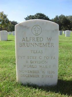Alfred W Brunnemer