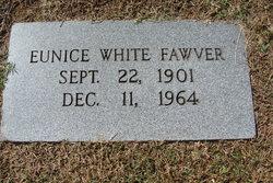 Eunice <i>White</i> Fawver
