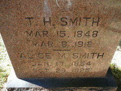 Alice M. <i>Snyder</i> Smith