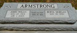 Berta Bert <i>Morgan</i> Armstrong