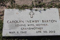 Barbara Carolyn <i>Newby</i> Barton