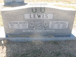 Ellen Ozell <i>Latham</i> Lewis